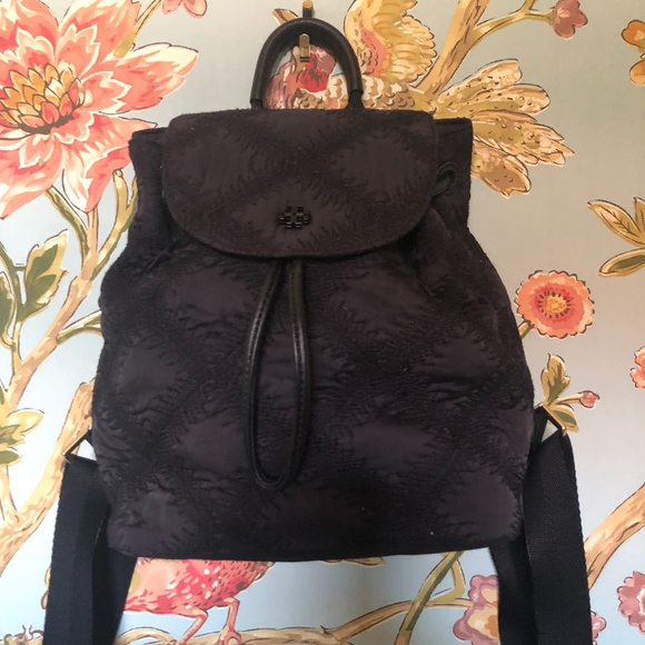 3ff0cbc8ee9f Flame quilt Mini Tory Burch backpack Like new. M 5c898ac8534ef9bf8c54dca3